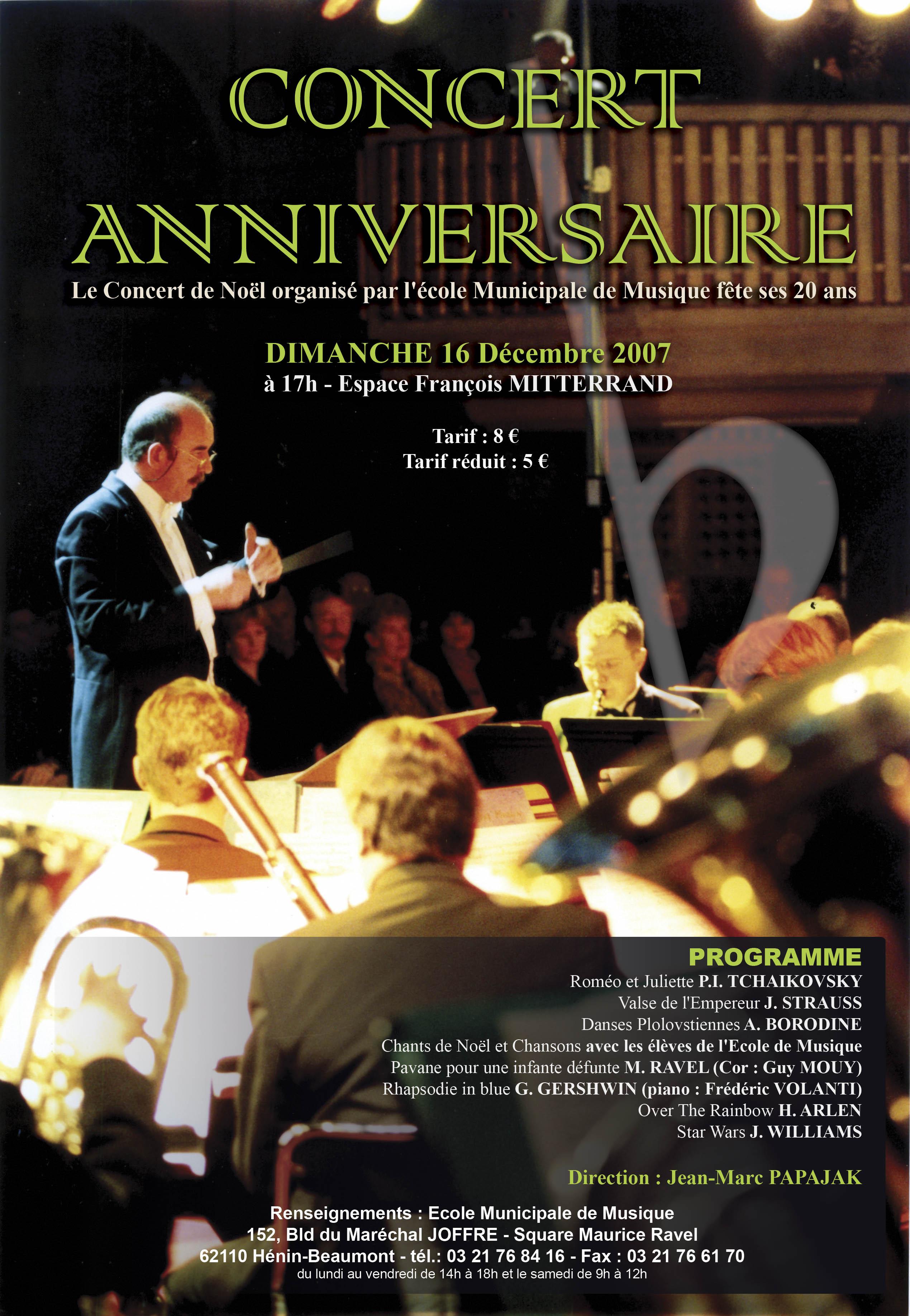 Concert de Noël 2007